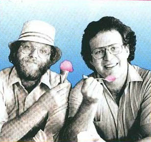 Ben Cohen and Jerry Greenfield of Ben & Jerry's icecream